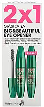 Parfumuri și produse cosmetice Set - Astor Big & Beautiful Eye Opener Set (mascara/2x12ml) (910 - Black)