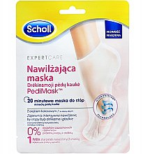 Parfumuri și produse cosmetice Mască cu ulei de cocos pentru picioare - Scholl Expert Care Foot Mask