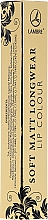 Parfumuri și produse cosmetice Ruj mat de buze - Lambre Soft Matt Longwear Lip Colour