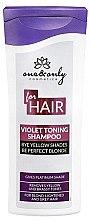 Parfumuri și produse cosmetice Șampon pentru păr blond - One&Only Cosmetics For Hair Violet Toning Shampoo