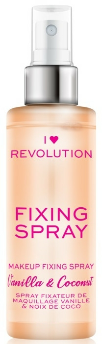 Fixator de machiaj - I Heart Revolution Fixing Spray Vanilla & Coconut