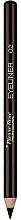 Parfumuri și produse cosmetice Creion pentru conturul ochilor - Pierre Rene Long Lasting Eyeliner