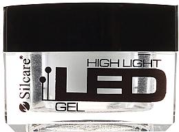 Parfumuri și produse cosmetice Gel de unghii, alb - Silcare High Light LED White