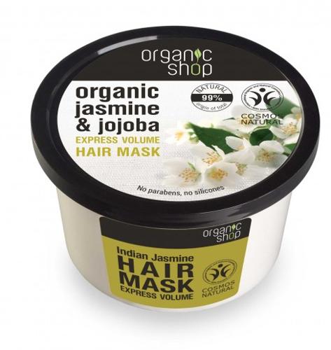 "Mască de păr ""Jasmine indian"" - Organic Shop Organic Jasmine and Jojoba Hair Mask"