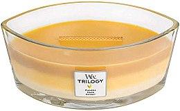 Parfumuri și produse cosmetice Lumânare aromată în suport de sticlă - Woodwick Hearthwick Flame Ellipse Trilogy Candle Fruits of Summer