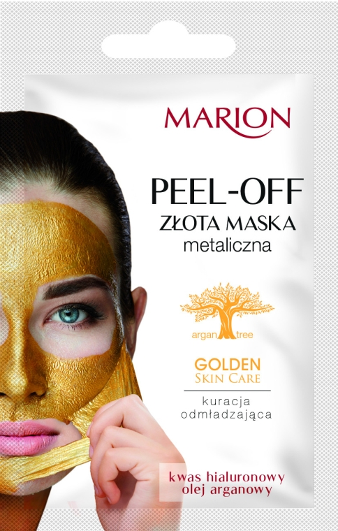Mască de față - Marion Golden Skin Care Peel-Off Mask