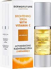 Parfumuri și produse cosmetice Ser cu vitamina C - DermoFuture Brightening Serum With Vitamin C