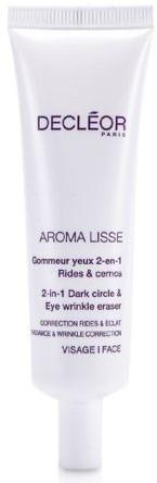 Cremă antirid pentru pleoape - Decleor Aroma Lisse 2-in-1 Dark Circle & Eye Wrinkle Eraser (Salon Product) — Imagine N1