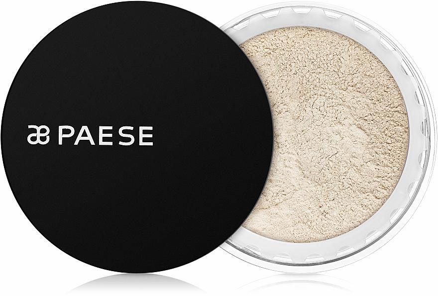 Pudră minerală matifiantă - Paese Mineral Powder