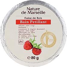 Parfumuri și produse cosmetice Bombă de baie cu aromă de căpșuni - Nature de Marseille Strawberries