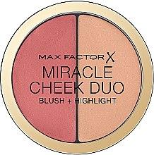 Parfumuri și produse cosmetice Paletă-corector pentru față - Max Factor Miracle Cheeck Duo