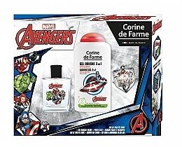 Parfumuri și produse cosmetice Marvel The Avengers - Set (edt/50ml + sh/gel/250ml)