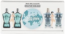 Parfumuri și produse cosmetice Jean Paul Gaultier Mini Set - Set (edt/2x7ml+edp/2x7ml)