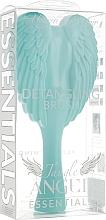 Perie de păr, mentă - Tangle Angel Essentials Aqua Mint — Imagine N5