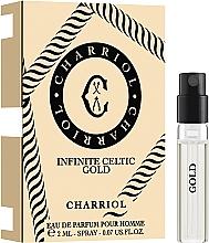 Parfumuri și produse cosmetice Charriol Infinite Celtic Gold - Apă de parfum (mostră)