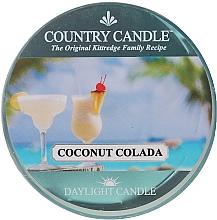 Parfumuri și produse cosmetice Lumânare de ceai - Country Candle Coconut Colada