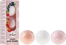 Parfumuri și produse cosmetice Bile efervescente pentru baie - Delia Dairy Fun Milky Bath Balls