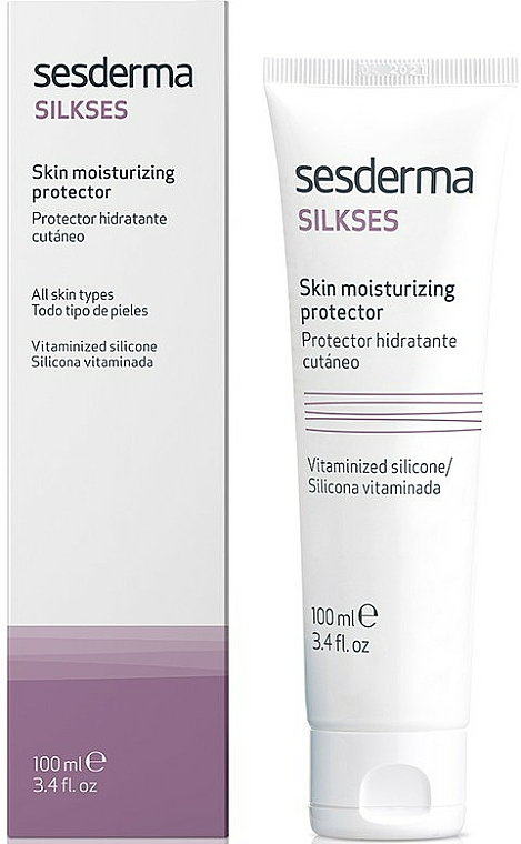 Cremă hidratantă - SesDerma Laboratories Silkses Skin Moisturizing Cream — Imagine N1