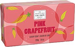 Parfumuri și produse cosmetice Săpun - Scottish Fine Soaps Pink Grapefruit Luxury Wrapped Soap