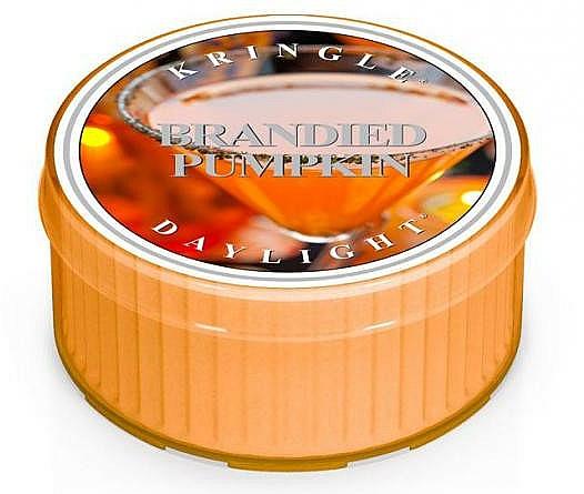 Lumânare de ceai - Kringle Candle Daylight Brandied Pumpkin — Imagine N1