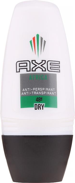 Deodorant antiperspirant pentru bărbați - Axe Africa Dry Deo Roll-On Men
