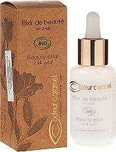 Parfumuri și produse cosmetice Elixir pentru față - Couleur Caramel Elixir De Beaute Oro 24K