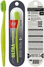 """Parfumuri și produse cosmetice Periuță de dinți duritate medie """"Ultra Complete"""", verde deschis - Splat"""
