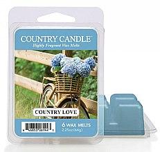 Parfumuri și produse cosmetice Ceară aromată - Country Candle Country Love Wax Melts