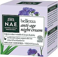 Parfumuri și produse cosmetice Cremă de noapte pentru față - N.A.E. Bellezza Anti-Age Night Cream