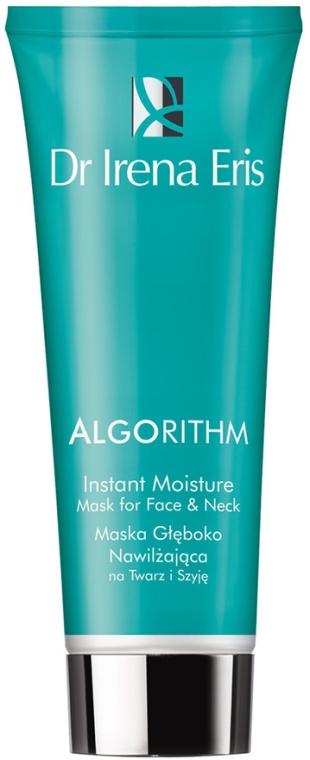 Mască hidratantă pentru față și gât - Dr Irena Eris Algorithm Instant Moisture mask For Face&Neck — Imagine N1