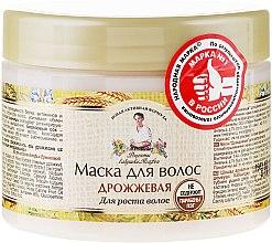 Parfumuri și produse cosmetice Mască de păr cu drojdie de bere - Reţete bunicii Agafia