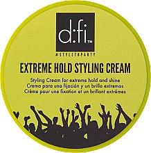 Parfumuri și produse cosmetice Cremă pentru păr - D:fi Extreme Hold Styling Cream