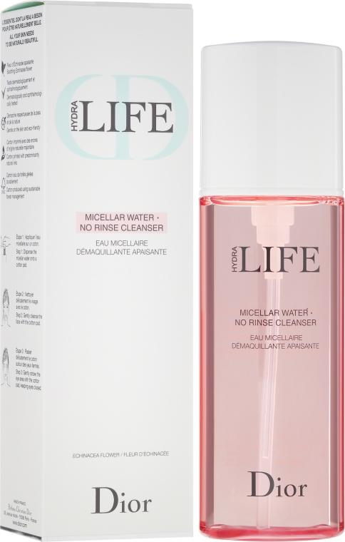 Apă micelară - Dior Hydra Life Micellar Water No Rinse Cleanser — Imagine N1