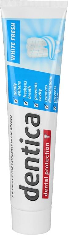 Pastă de dinți pentru albire - Dentica Dental Protection White Fresh
