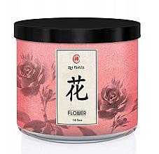 Parfumuri și produse cosmetice Kringle Candle Zen Flower - Lumânare parfumată