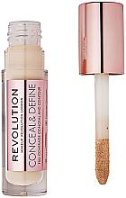 Parfumuri și produse cosmetice Concealer de față - Makeup Revolution Conceal and Define Concealer
