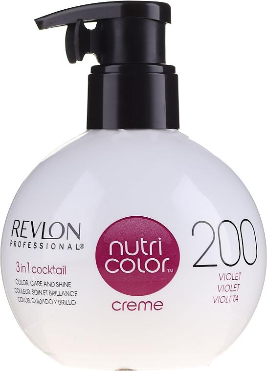 Cremă nuanțatoare pentru păr - Revlon Professional Nutri Color Creme