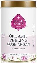 Parfumuri și produse cosmetice Scrub organic pentru corp - Eliah Sahil Organic Peeling Rose Argan