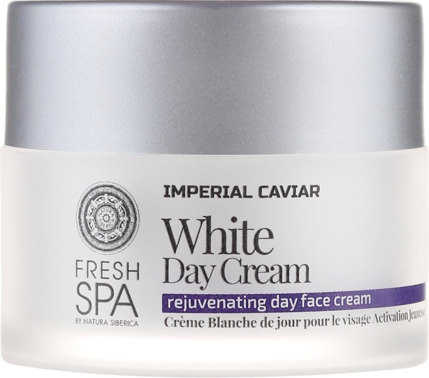 Cremă de zi pentru față - Natura Siberica Fresh Spa Imperial Caviar White Day Cream — Imagine N2