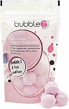 """Parfumuri și produse cosmetice Bombă de baie """"Ceai de fructe de vară"""" - Bubble T Bath Fizzies Summer Fruits Tea"""