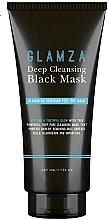 Parfumuri și produse cosmetice Mască pentru curățarea tenului - Glamza Deep Cleaning Black Face Mask