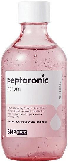 Ser hidratant cu peptide pentru față - SNP Prep Peptaronic Serum