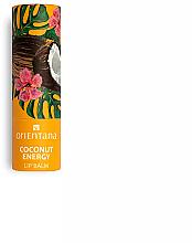 """Parfumuri și produse cosmetice Balsam de buze """"Coconut Energy"""" - Orientana"""