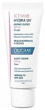 Parfumuri și produse cosmetice Cremă ușoară pentru ten normal până la uscat - Ducray Ictyane Hydra UV Light Cream SPF 30