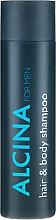 Parfumuri și produse cosmetice Șampon-Gel de duș - Alcina Herrenpflege For Men Hair & Body Shampoo