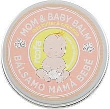 Parfumuri și produse cosmetice Balsam pentru mamă și copil - Roofa Calendula & Panthenol Mom & Baby Shea Butter & Calendula Balm