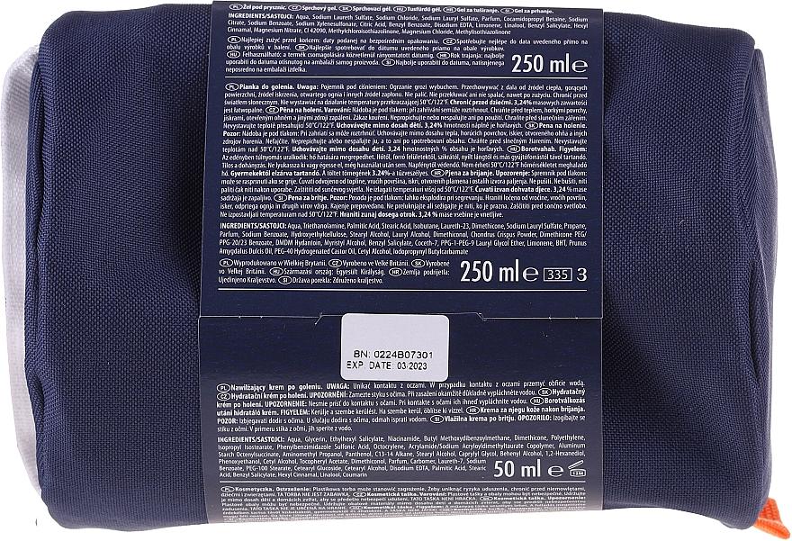 Set - Gillette & Old Soice Men Set (sh/gel/270ml + sh/foam/250ml + ash/balm/50ml + bag) — Imagine N2