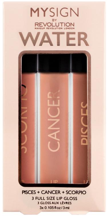 Set Luciu de buze - Makeup Revolution My Sign Lip Gloss Collection