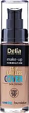 Parfumuri și produse cosmetice Fond de ten - Delia Cosmetics Stay Flawless Cover