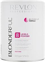 Parfumuri și produse cosmetice Pudră iluminatoare Nivelul 8 - Revlon Professional Blonderful 8 Levels Lightening Powder